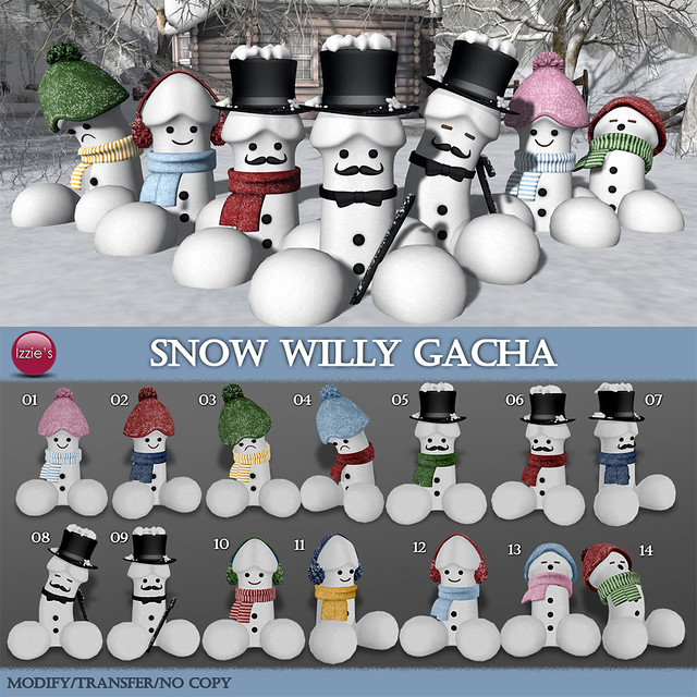 Snow Willy Gacha
