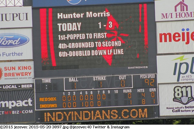 2015-05-20 3897 Minor League Baseball - Pawtucket Red Sox @ Indianapolis Indians