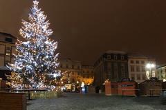 Christmas tree at Zelný trh, Brno - CZ
