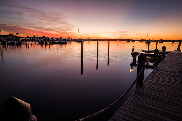 Sunset in Key Largo - Florida, United States - Travel photography