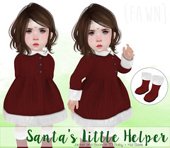 {fawn} Santa's Little Helper