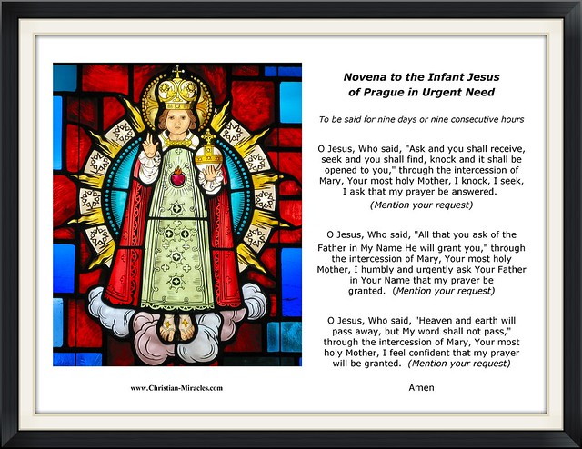 Infant Jesus of Prague - Art Print