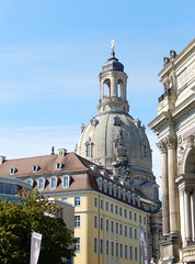 Frauenkirche from Brühl's Garden