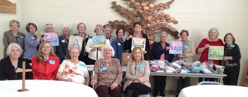 United Methodist Women, Baypines District, Alabama-West Florida Conference Against Human Trafficking.
