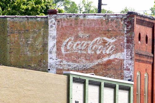 rome ga georgia floydcounty coke cocacola mural ad advertisement faded bmok bmok2