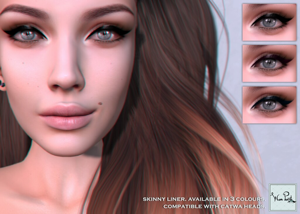 WarPaint* @ Skin Fair '17 - Skinny liner - SecondLifeHub.com