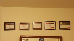 My IT certs.  Have to keep working at it.  #itprofessional #mytrade #myprofession #freelanceit #seekingfreelancework #contractor #itsector #comptia #microsoft