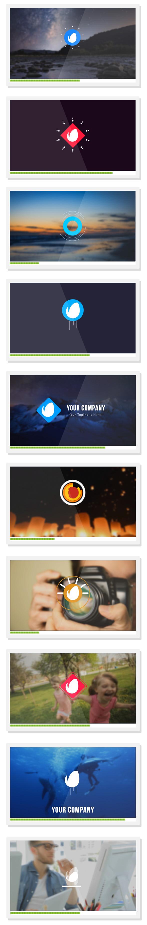 features-quick logo reveal
