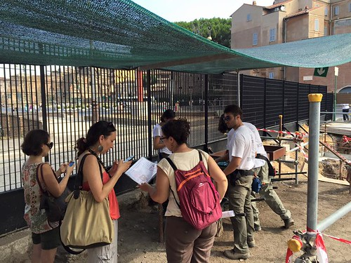 ROMA ARCHEOLOGIA & RESTAURO ARCHITETTURA: Day of Archaeology al Foro della Pace di Roma (07|2015). Fonte: Roma Tre, Astrid D'Eredita, Antonia Falcone, Paola Romi, Francesca Pontani & La Repubblica (25|07|2015).