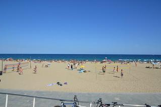 Зображення Platja del Bogatell поблизу GTD. barcelona sea españa mer beach seaside spain espagne plage barcelone août espanya 2015 playadelbogatell august2015