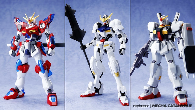 Upcoming Gunpla Releases - Potential CATALOGUE Robits