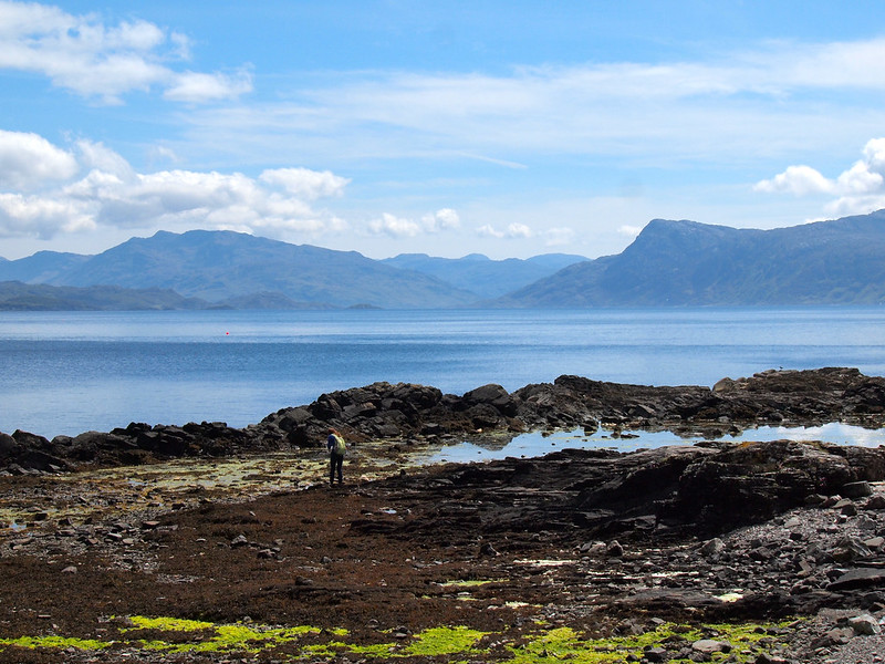 Looking towards the Scottish mainland from Skye