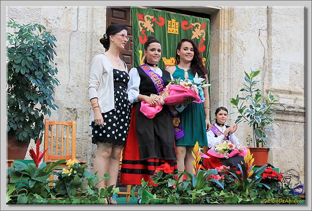 Briviesca en Fiestas 2.015 Proclamación de las Reinas y lectura del Pregón (15)