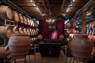 Del Dotto Vineyards Historic Winery and Caves - Couch seats