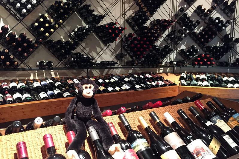 Wine cellar, The Barn