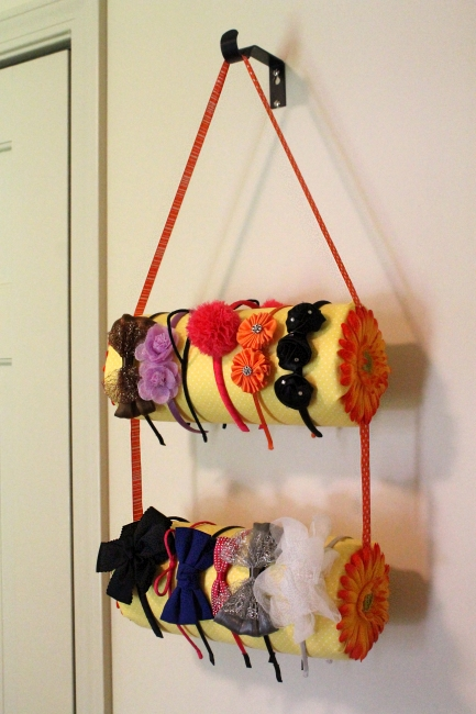 Headband holder tutorial, 8