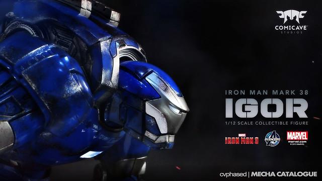 "Comicave Studios - 1/12 Iron Man Mark 38 ""Igor"" Teased"