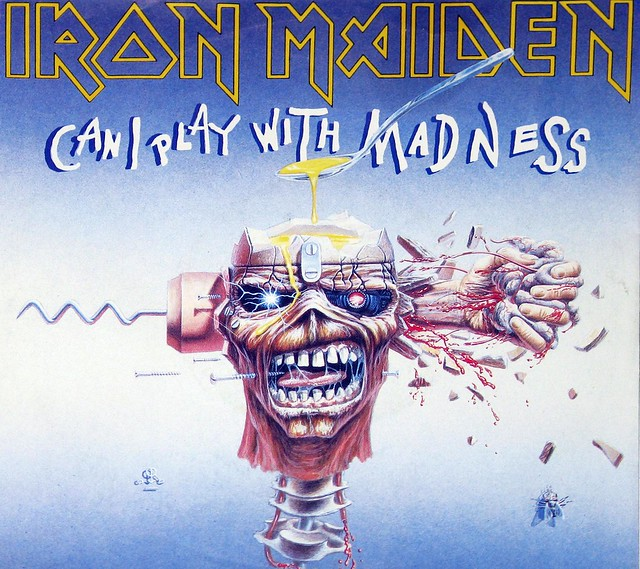 IRON MAIDEN Can I Play with Madness / Black Bart Blues