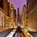 """Chicago's """"L"""" Train Line, USA. by pedro lastra"""