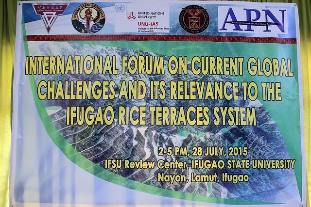 Ifugao State University Symposium
