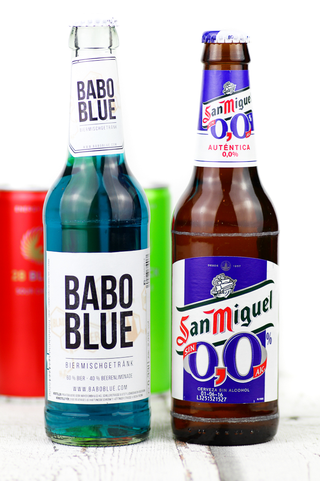 Degustabox August, BABO Blue, San Miguel alkoholfrei