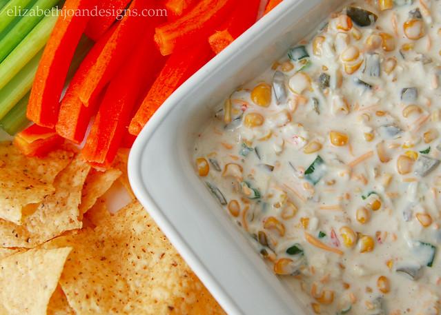 Spicy Jalapeno Corn Dip