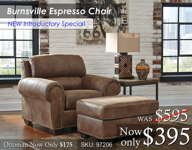 Burnsville Espresso Chair