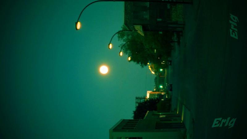 Blood moon. Montreal. September 2015.