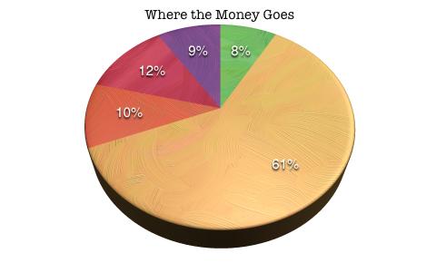 Where the KickStarter money goes