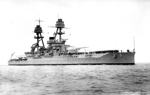 Schlachtschiff Oklahoma