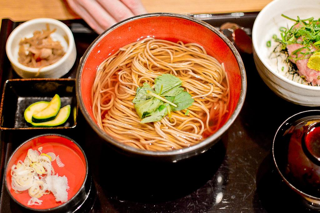 Soba Noodles, Nagano, Japan