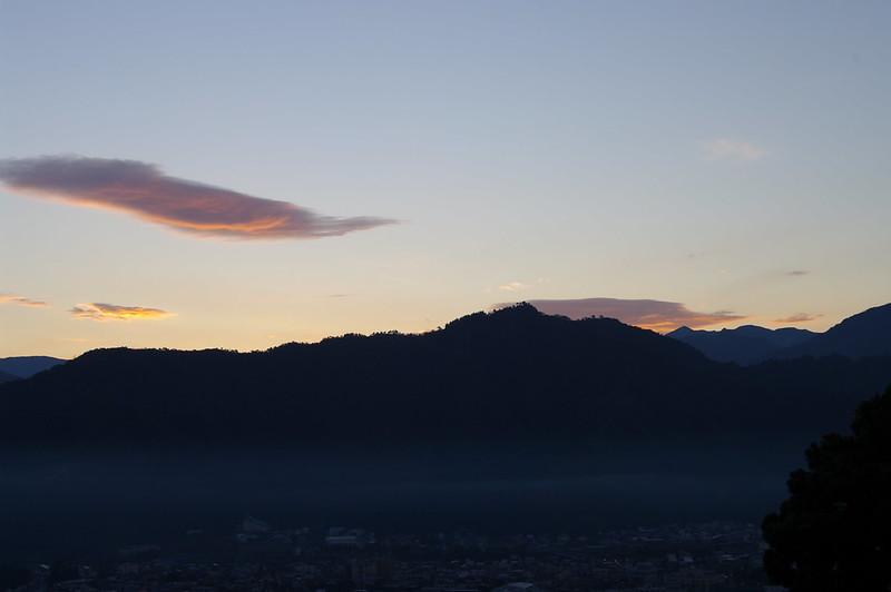 坂戸山から朝日が昇る_201510 #1_NO1