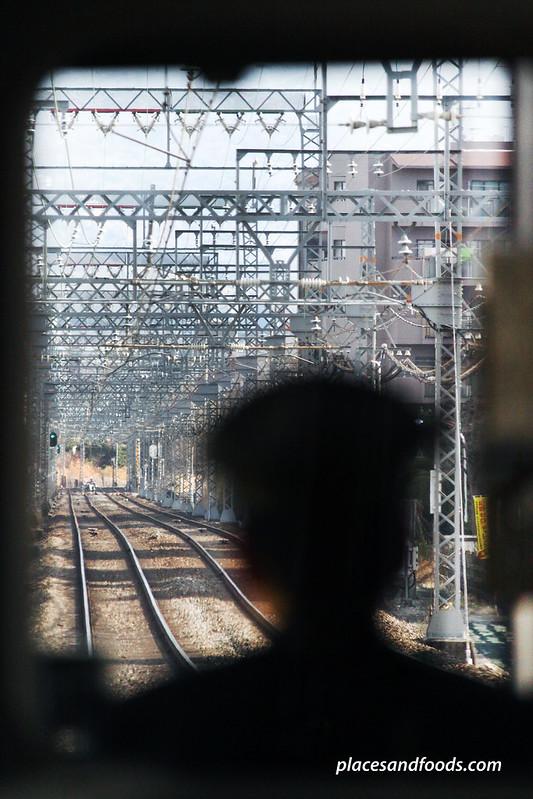 kansai train conductor view