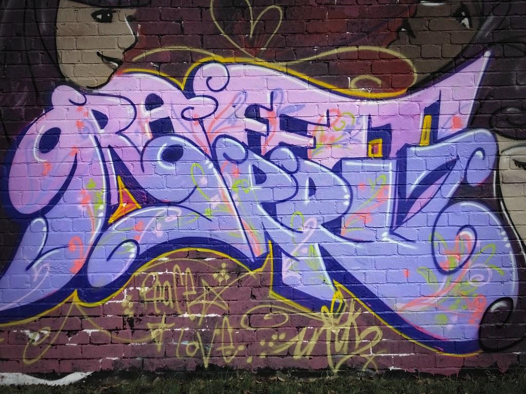 Hailey Park street art Cardiff