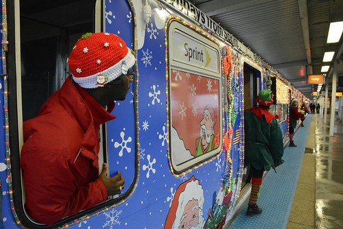 2015 Sprint CTA Holiday Train