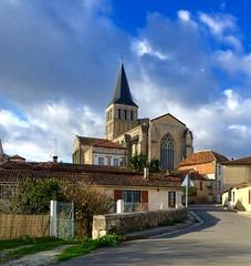 Abbey of Saint-Amant-de-Boixe, Charente, SW France - Photo of Vars