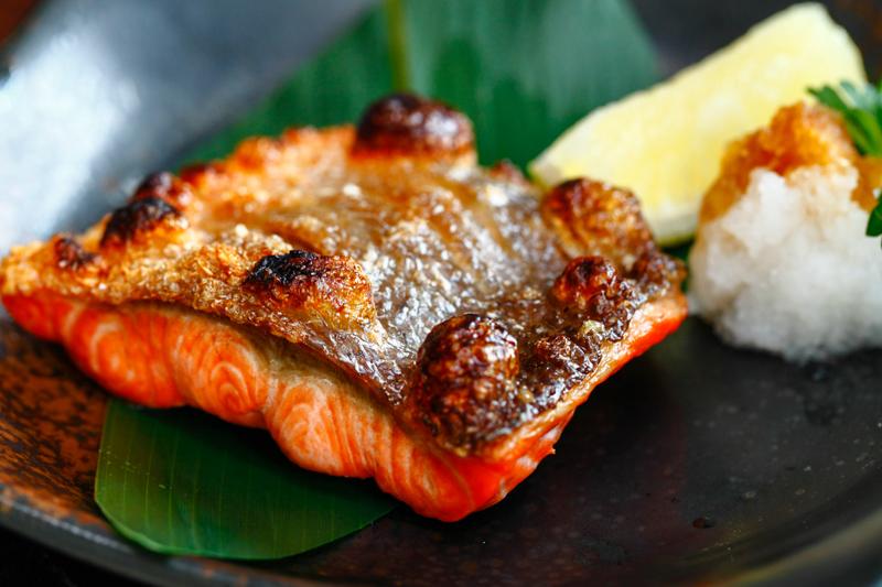 Minori Salmon Shioyaki