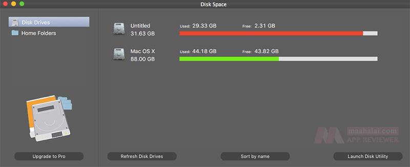 Disk Space Mac