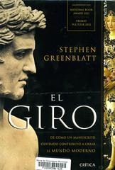 Stephen Greenblatt, El giro