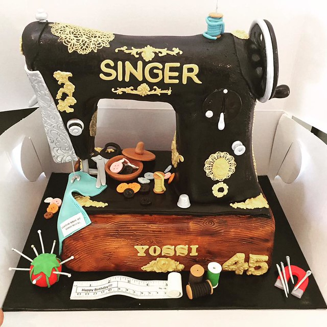 Singer Sewing Machine by Atel Sabah