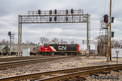 IC 9627 | EMD GP38-2 | CN Crossing