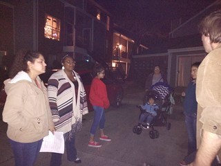 2nd  Christmas Caroling outreach Melissa's phone.