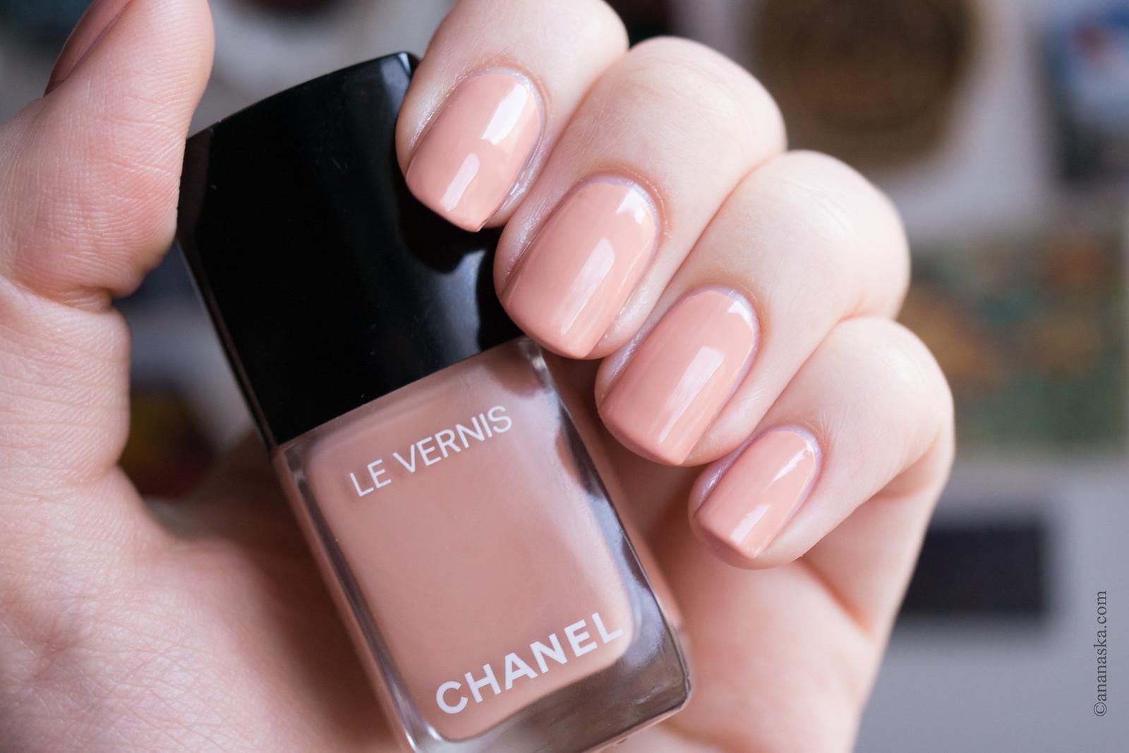 Chanel Le Vernis Longue Tenue 556 Beige Beige
