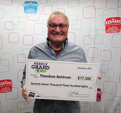 Theodore Bohlman - $77,380 Weekly Grand