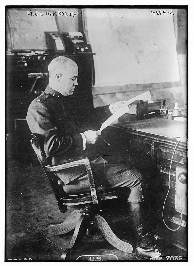 Lt. Col. O.P. Robinson (LOC)