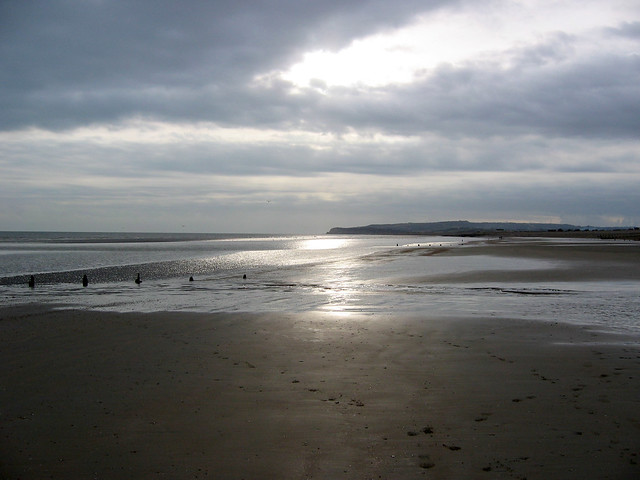 The beach near Winchelsea