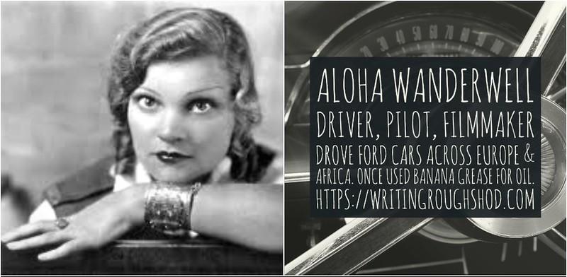 ALOHA WANDERWELL (IDRIS WELSH, IDRIS HALL, ALOHA BAKER) #100travelHERS