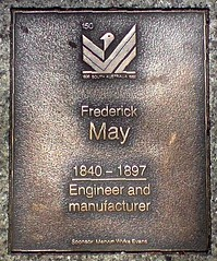 Frederick May plaque in Adelaide