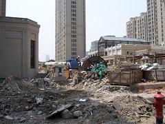 rubble, demolition, construction,