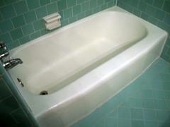Blue Bathroom Tub